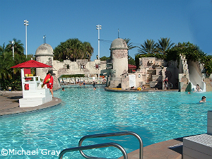 Port Royale pool ©Michael Gray
