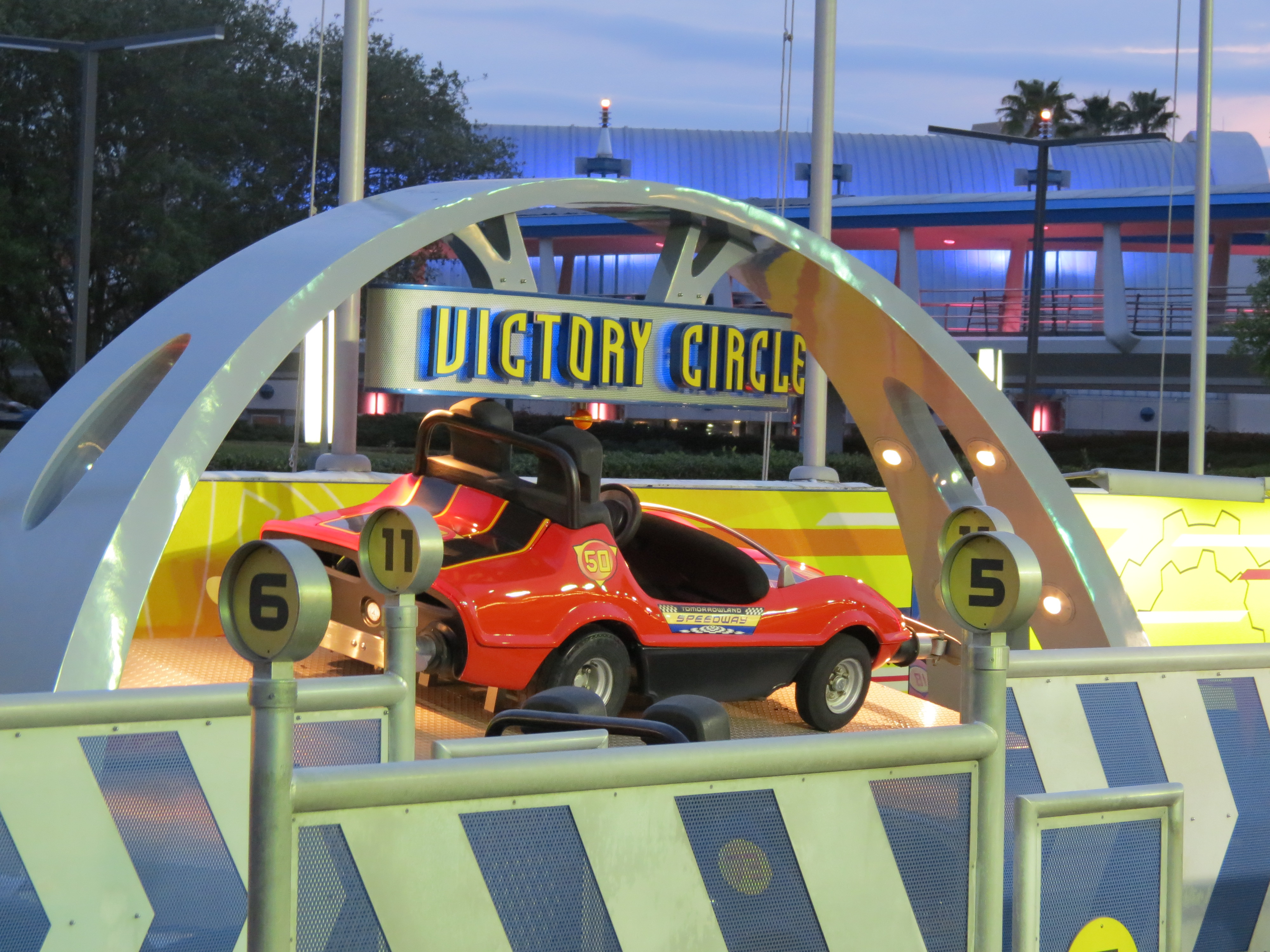 Terrific Tuesdays: Driving Down the Tomorrowland Speedway
