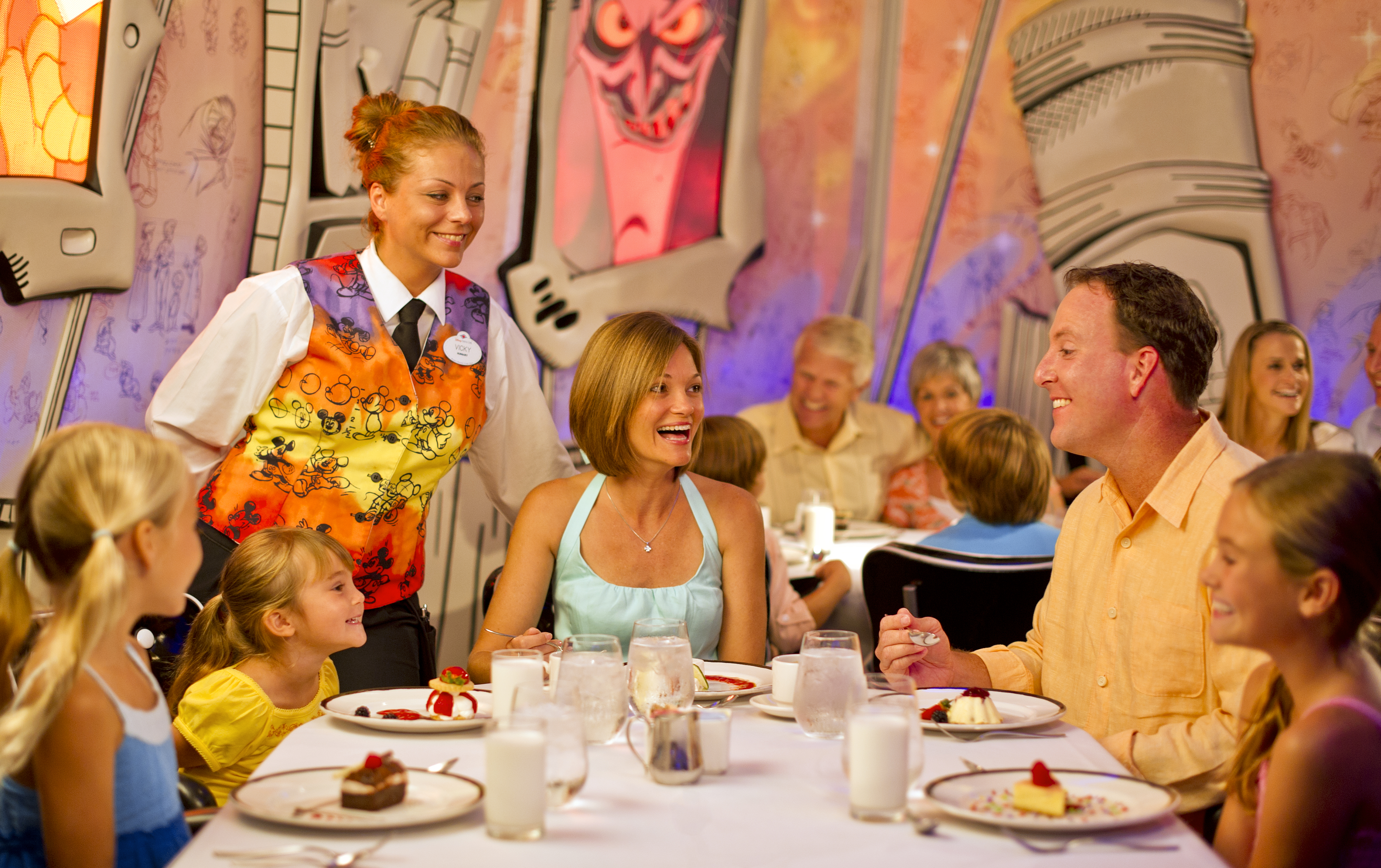 Delicious Dining Options On Board Disney Cruise Line