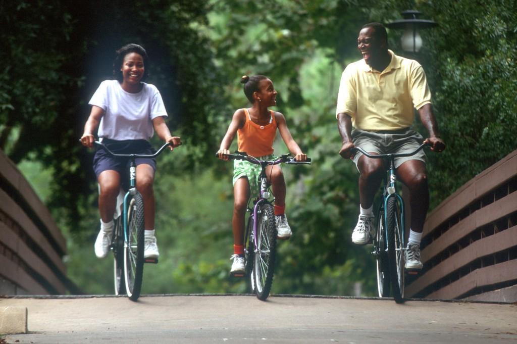 Family Biking at Disney World