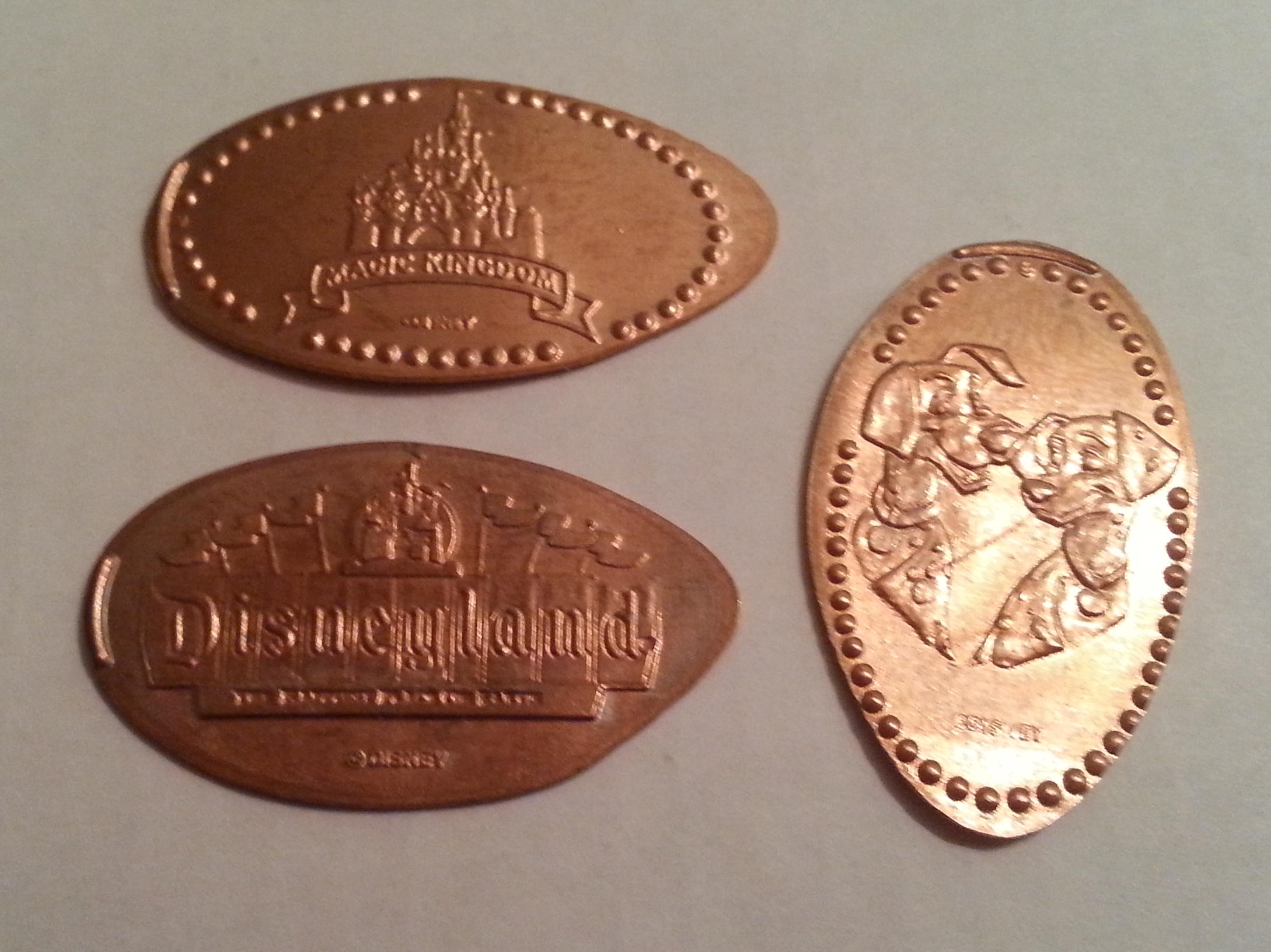 Thrifty Thursday: Disney World Pressed Coins