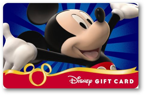 Thrifty Thursday: More Money to Spend With Disney Gift Cards!