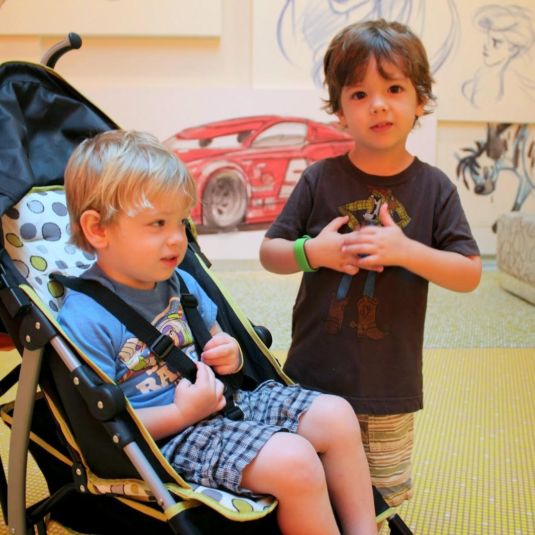 Disney World with Little Ones: Waiting for 40″