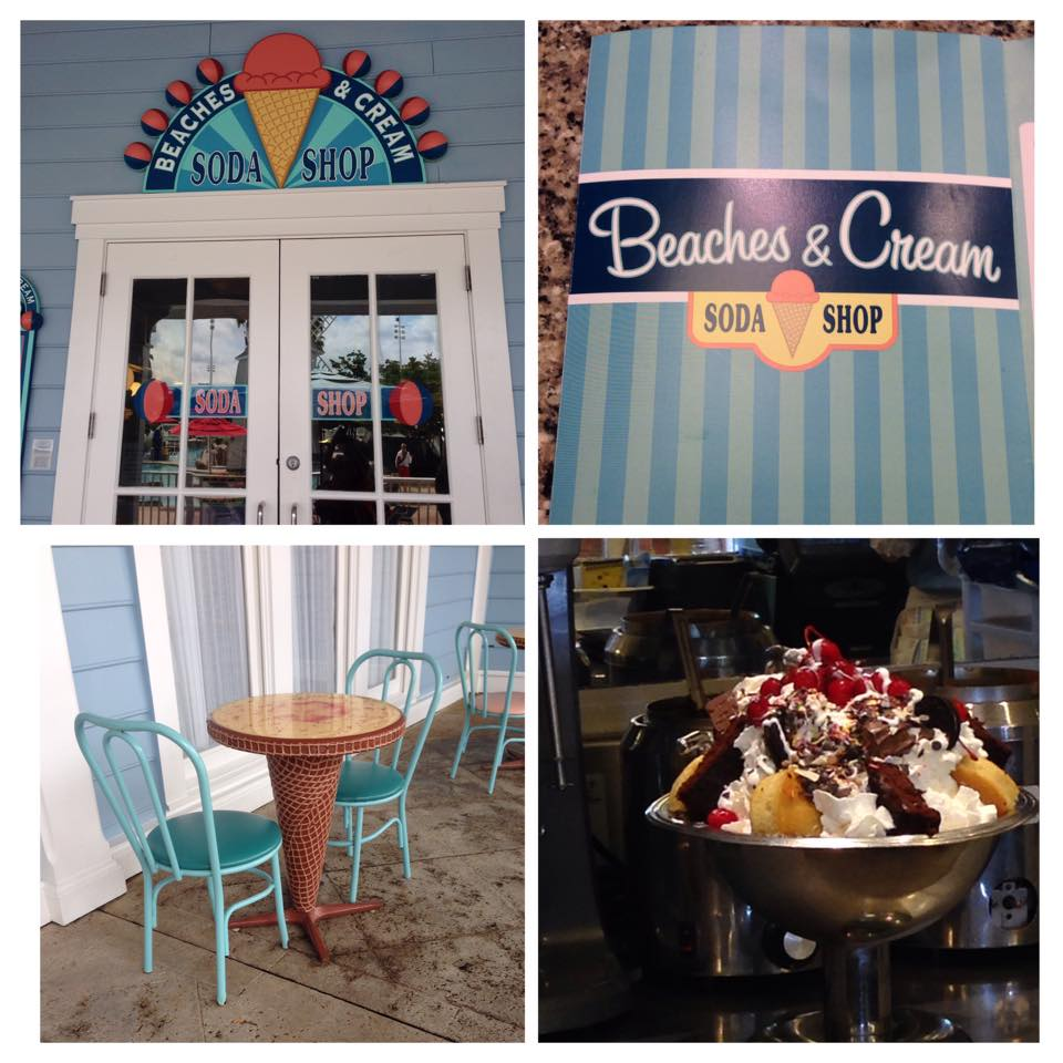Disney World Deliciousness at Beaches and Cream Soda Shop
