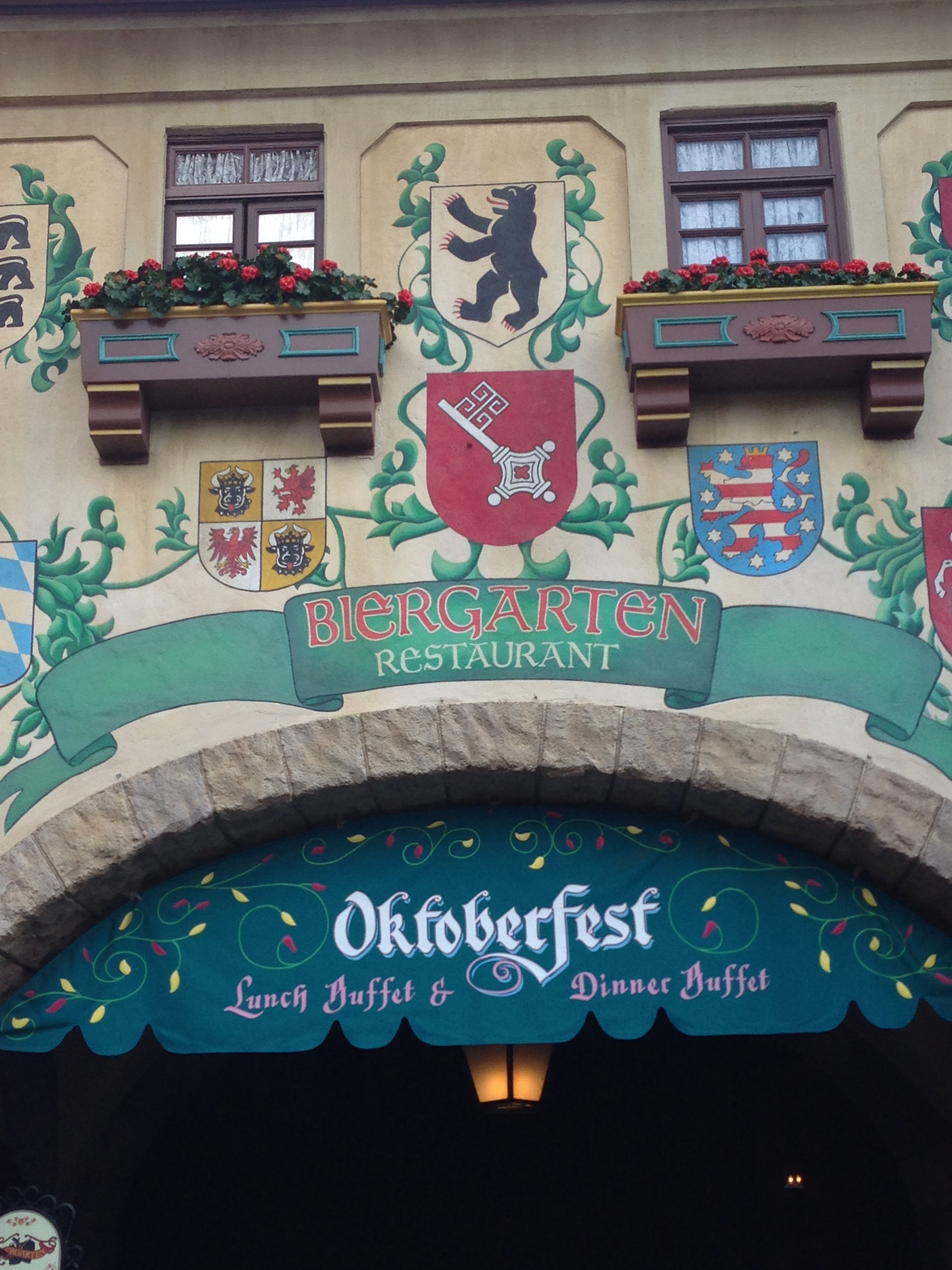 Dining at Disney World: Biergarten Deliciousness