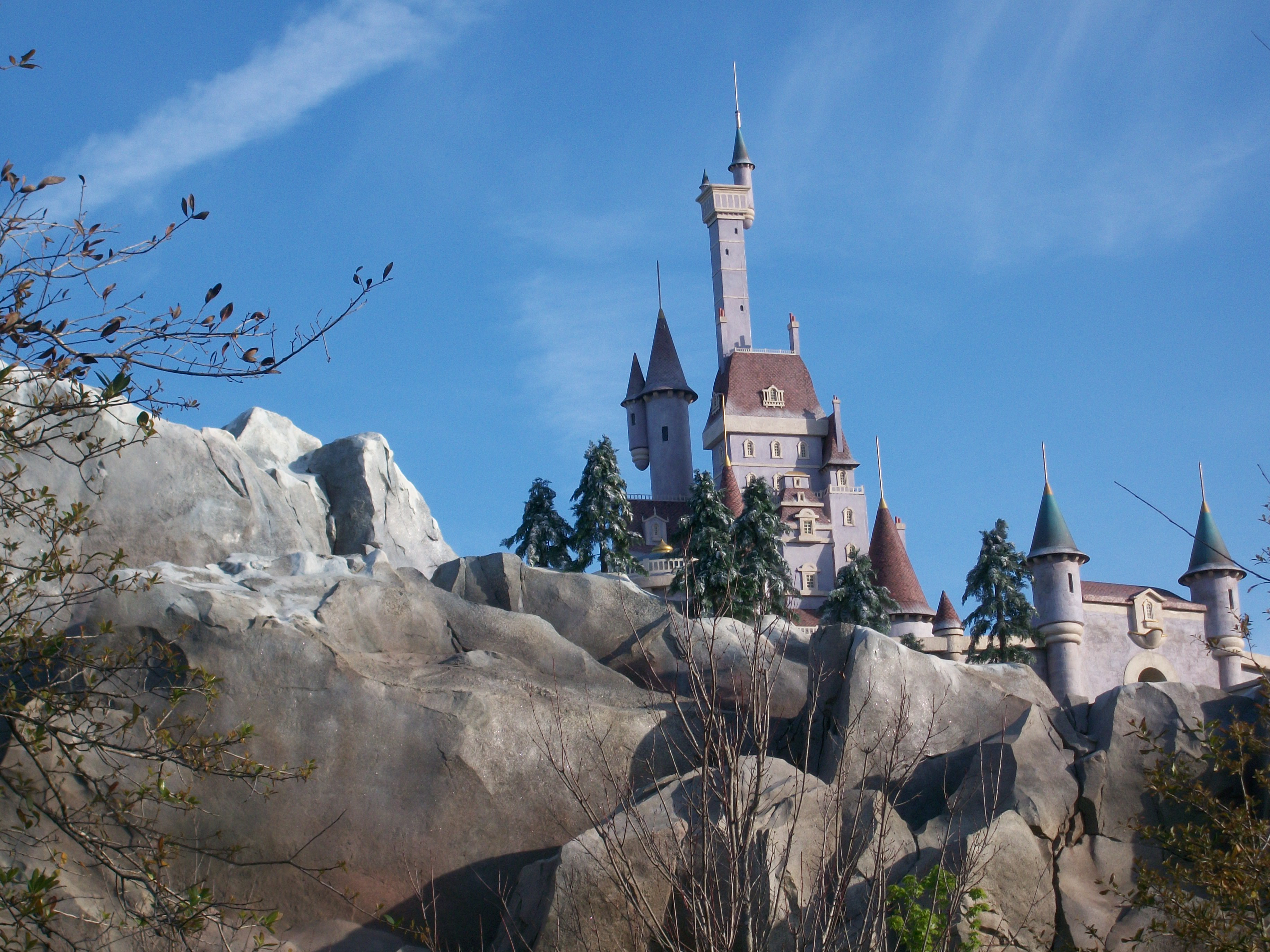 Wordless Wednesday: Another Disney Castle
