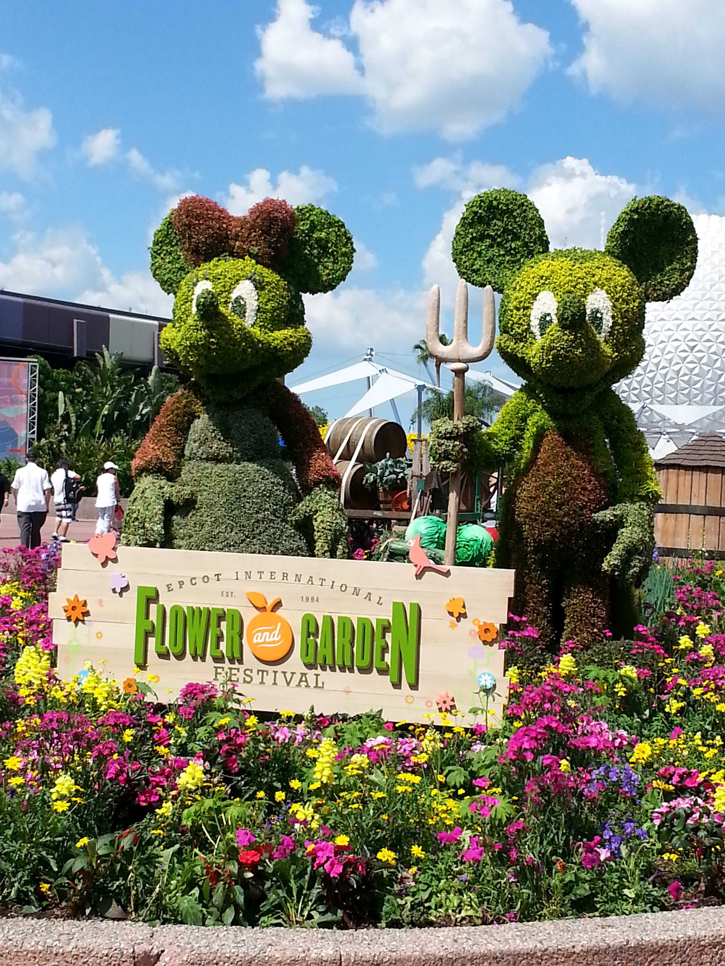 Terrific Tuesdays: Spring is in The Air at Epcot!