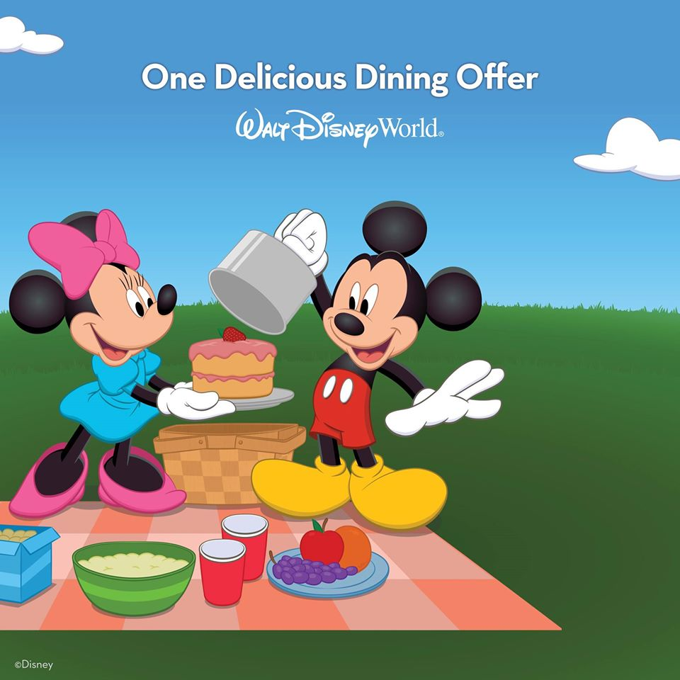 FREE food at Disney World? Yes Please!