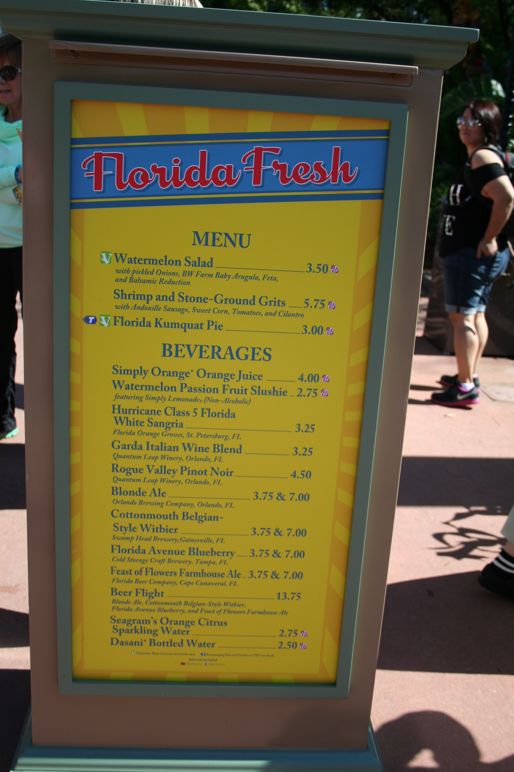 Special Dining Needs at Disney: It's A Whole New World Showcase, With Food!