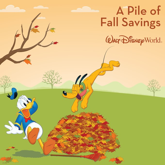 NEW Discounts Available for Fall at Walt Disney World!