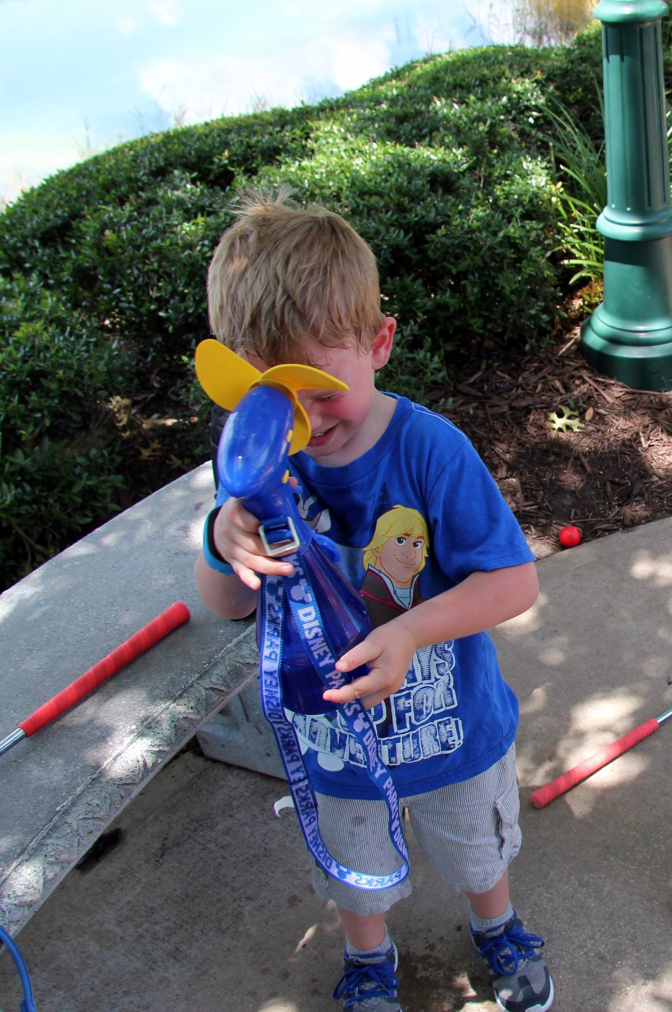 Disney with Little Ones: Give in to the Misting Fan