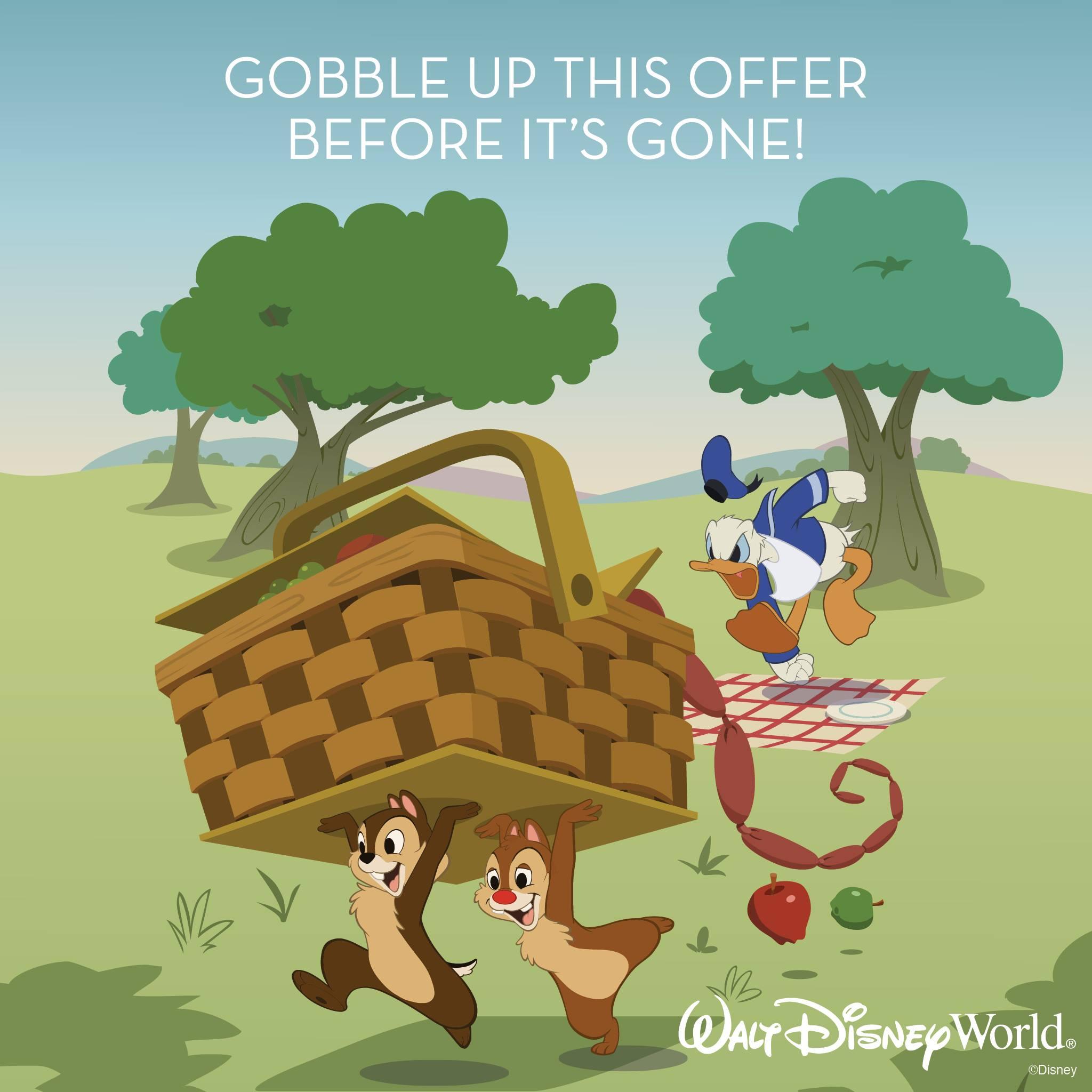 NEW Walt Disney World Savings for Winter!