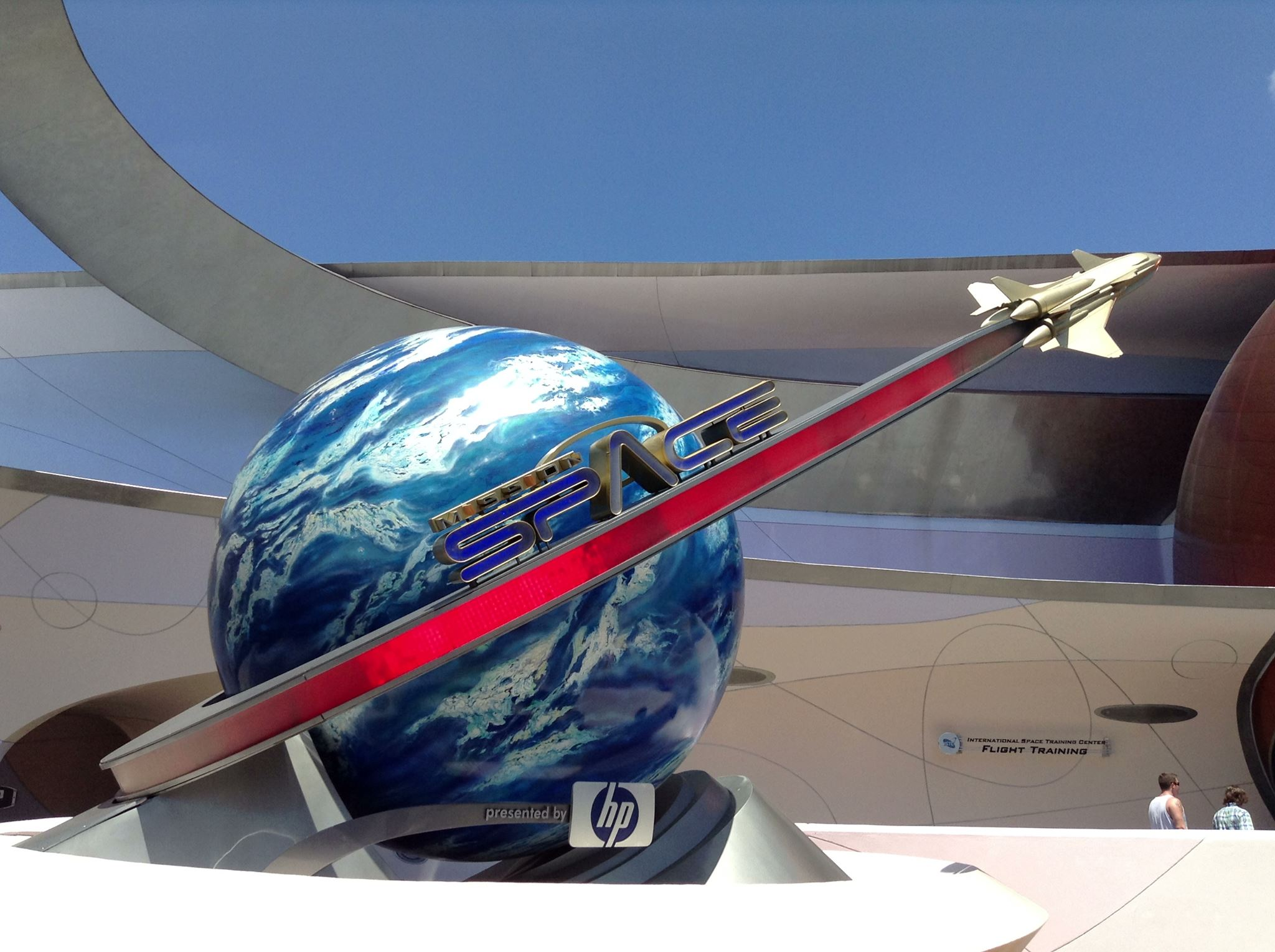 Wordless Wednesday: Mission Space – Green or Orange?