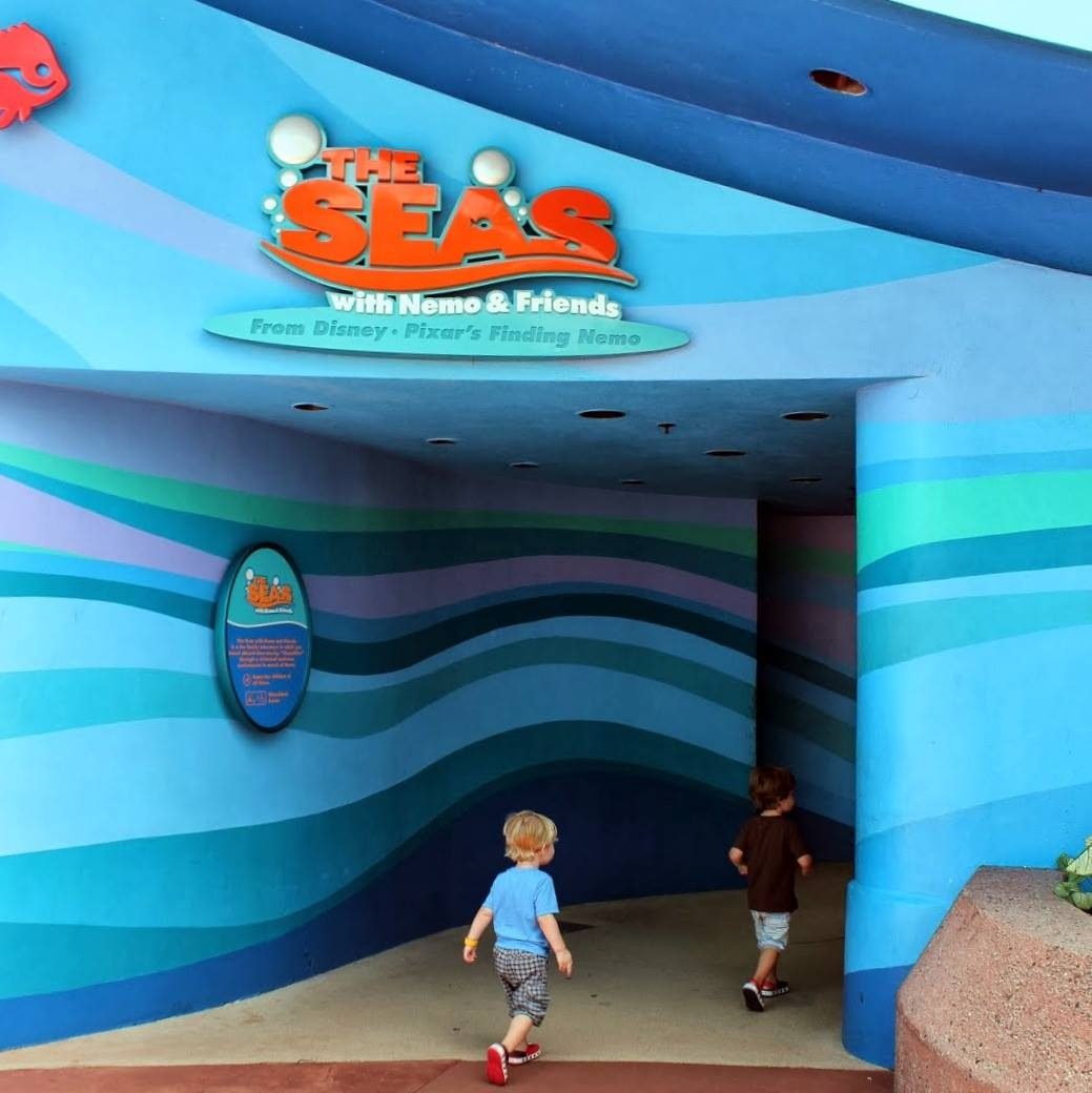Disney with Little Ones: Finding Nemo (and Dory) at Walt Disney World