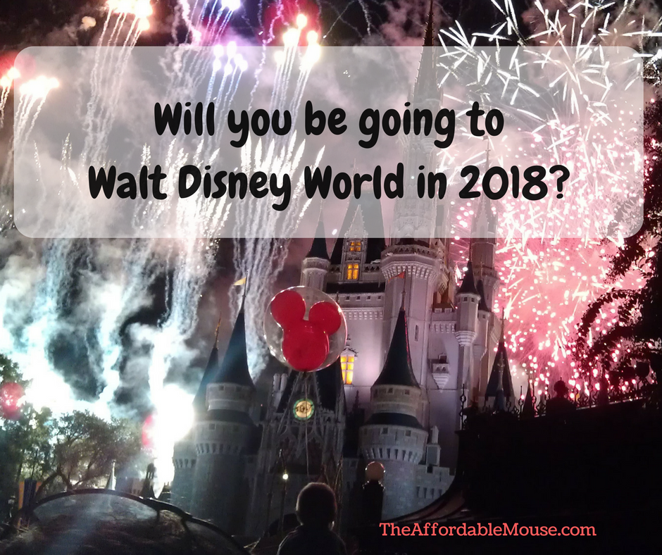 Ready To Book Your 2018 Disney World Vacation