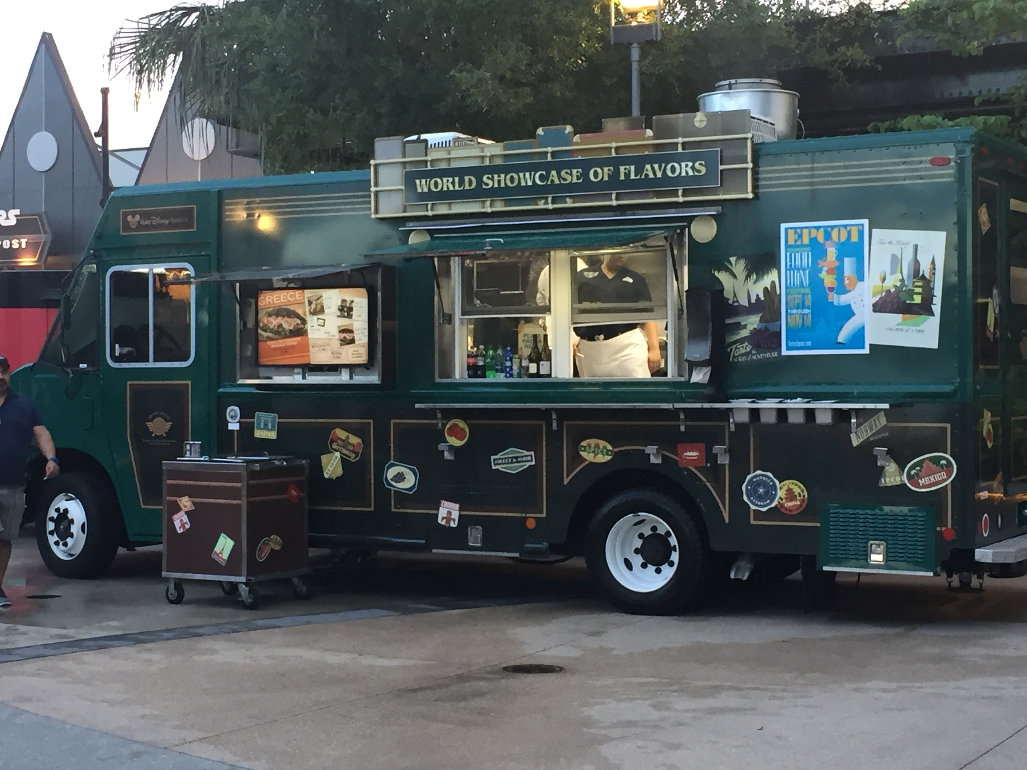 The World Showcase of Flavors Food Truck