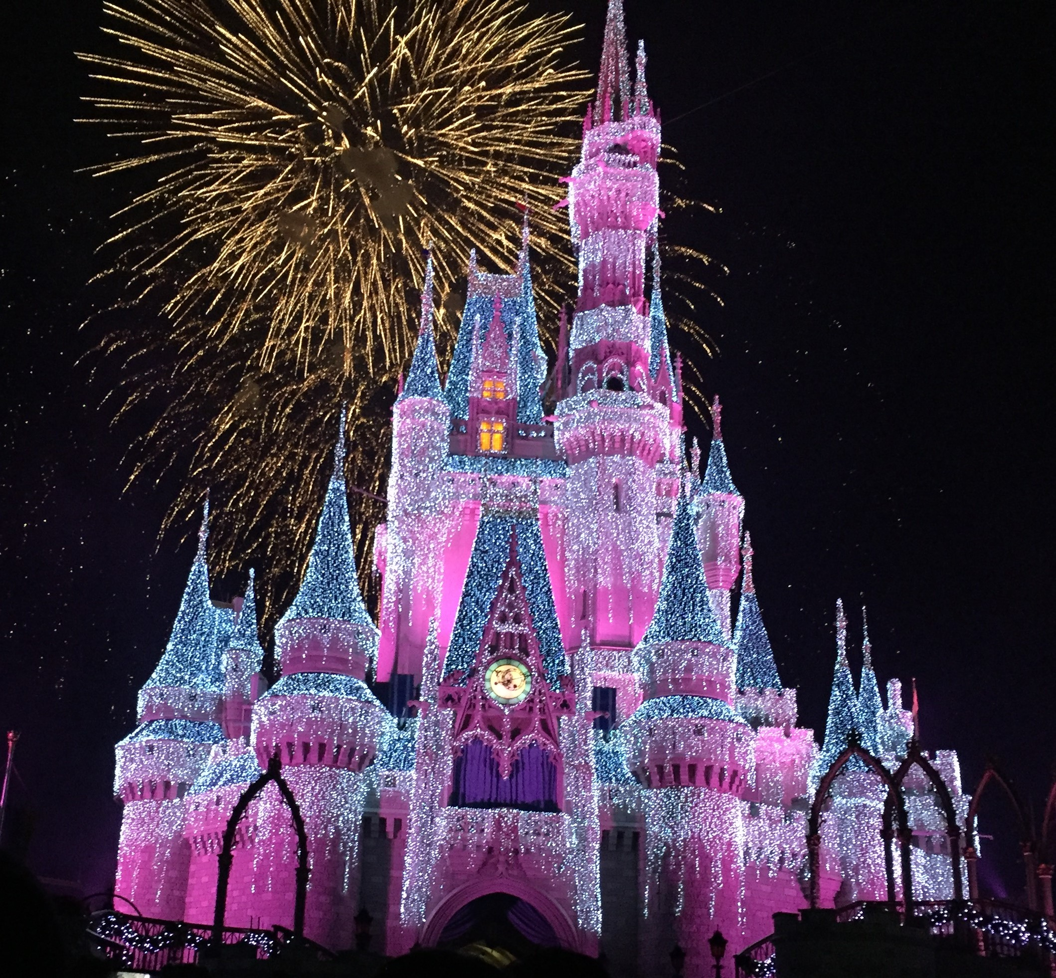 Cinderella Castle Christmas Lights.Disney Christmas Lights The Affordable Mouse