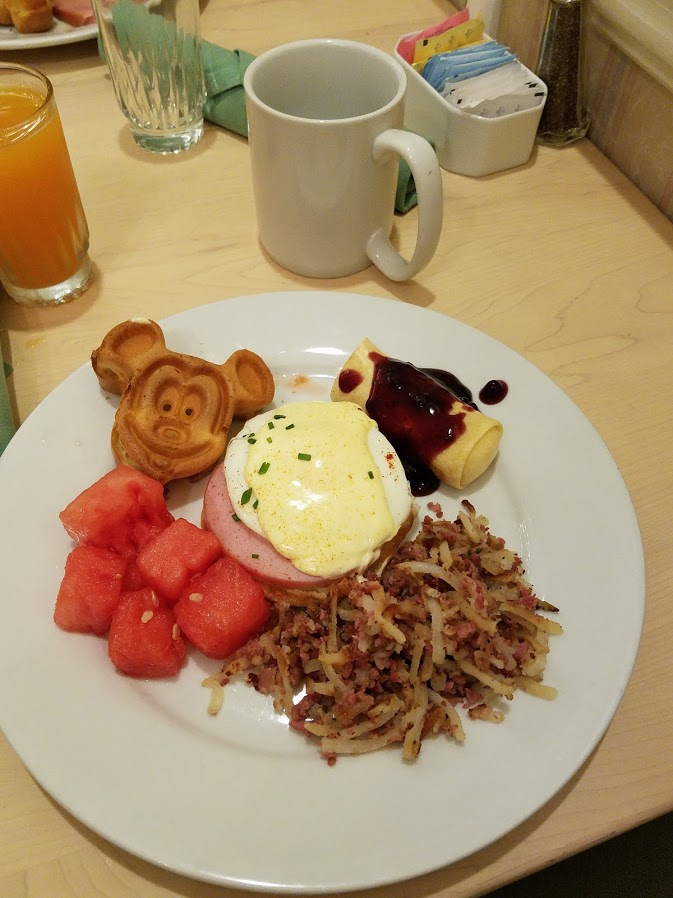 breakfast at disney world | The Affordable Mouse ~ The Memorable Journey